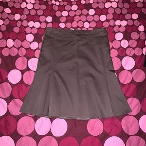 NEW! Light brown trumpet skirt